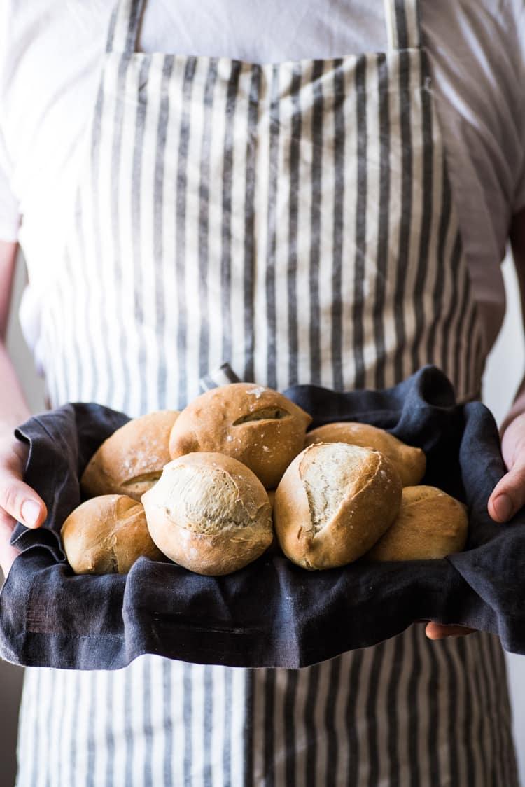Creative Dinner Roll Recipes | Mexican Bolillo Bread Rolls