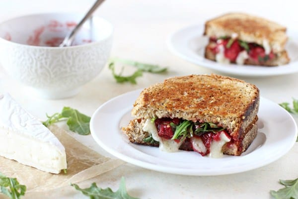 21 Mind-Blowing Grilled Cheese Sandwich Recipes: Roasted Strawberry and Brie Grilled Cheese