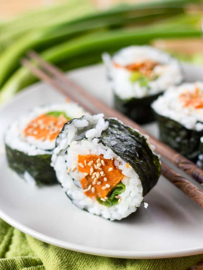 15 Crave-Worthy Vegetarian Sushi Recipes