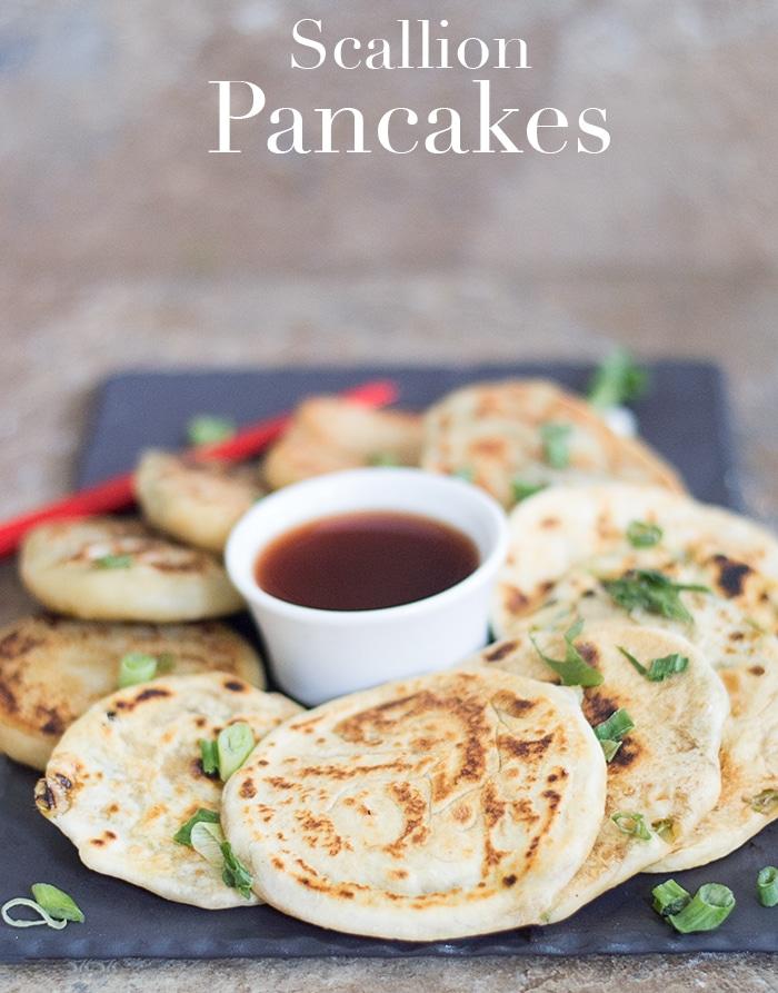 49 Savory Vegan Breakfast Recipes: Vegan Scallion Pancakes