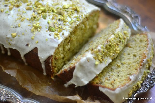 15 Crave-Worthy Pound Cake Recipes: Pistachio Cardamom Pound Cake