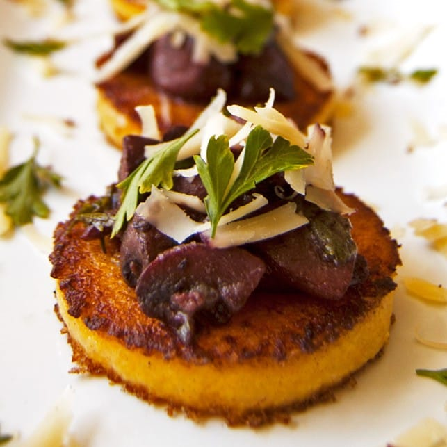 17 Delicious Vegetarian Dinners You Can Make with a Tube of Polenta