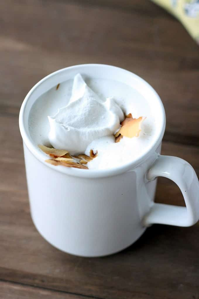 11 Cozy Coffee Drinks You Need This Fall: Toasted Coconut Latte