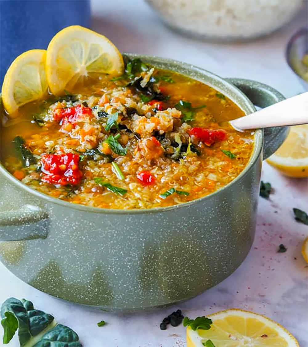 19 Recipes that Swap Lentils for Meat: Panera Broth Bowl With Lentils, Quinoa and Veggies