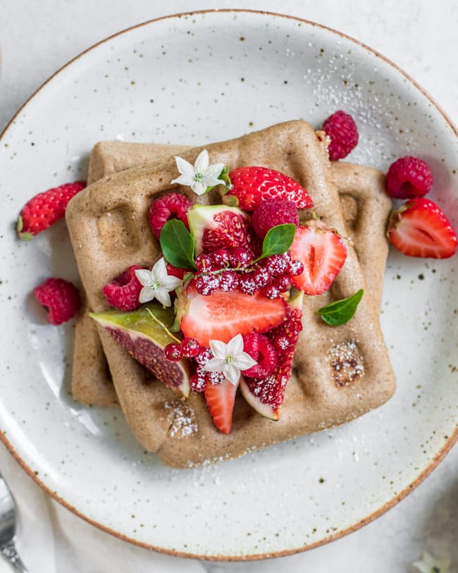 18 Flours You Haven't Tried But Definitely Should: Buckwheat Waffles