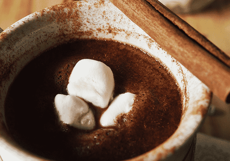 15 Vegan Hot Chocolate Recipes Everyone Will Love: Cinnamon Hot Chocolate