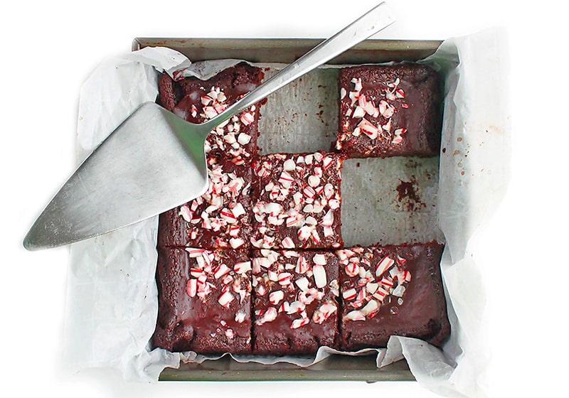 21 Drool-Worthy Recipes for Vegan Brownies: Vegan Peppermint Brownies