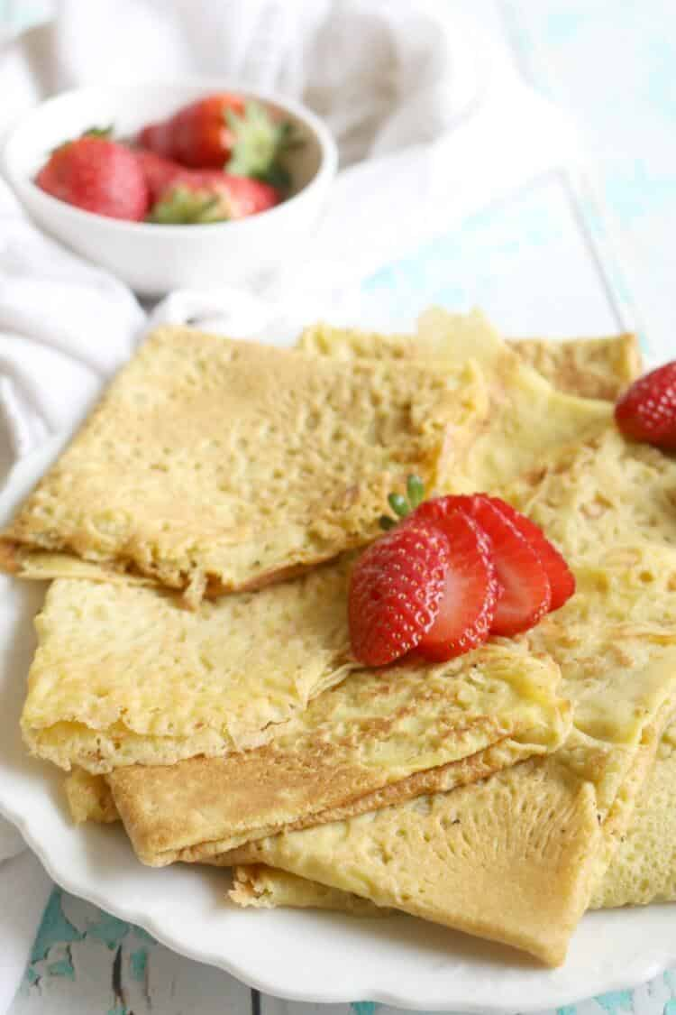 18 Flours You Haven't Tried But Definitely Should: Cassava Crepes