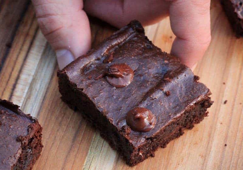 21 Drool-Worthy Recipes for Vegan Brownies: Vegan Double Chocolate Sunflower Brownies