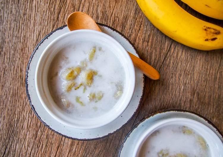 Thai Banana in Coconut Milk