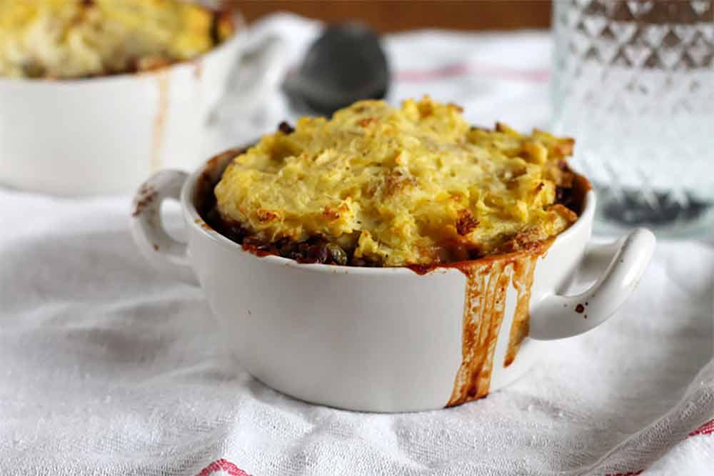 19 Recipes that Swap Lentils for Meat: Slow Cooker Lentil Shepherd's Pie