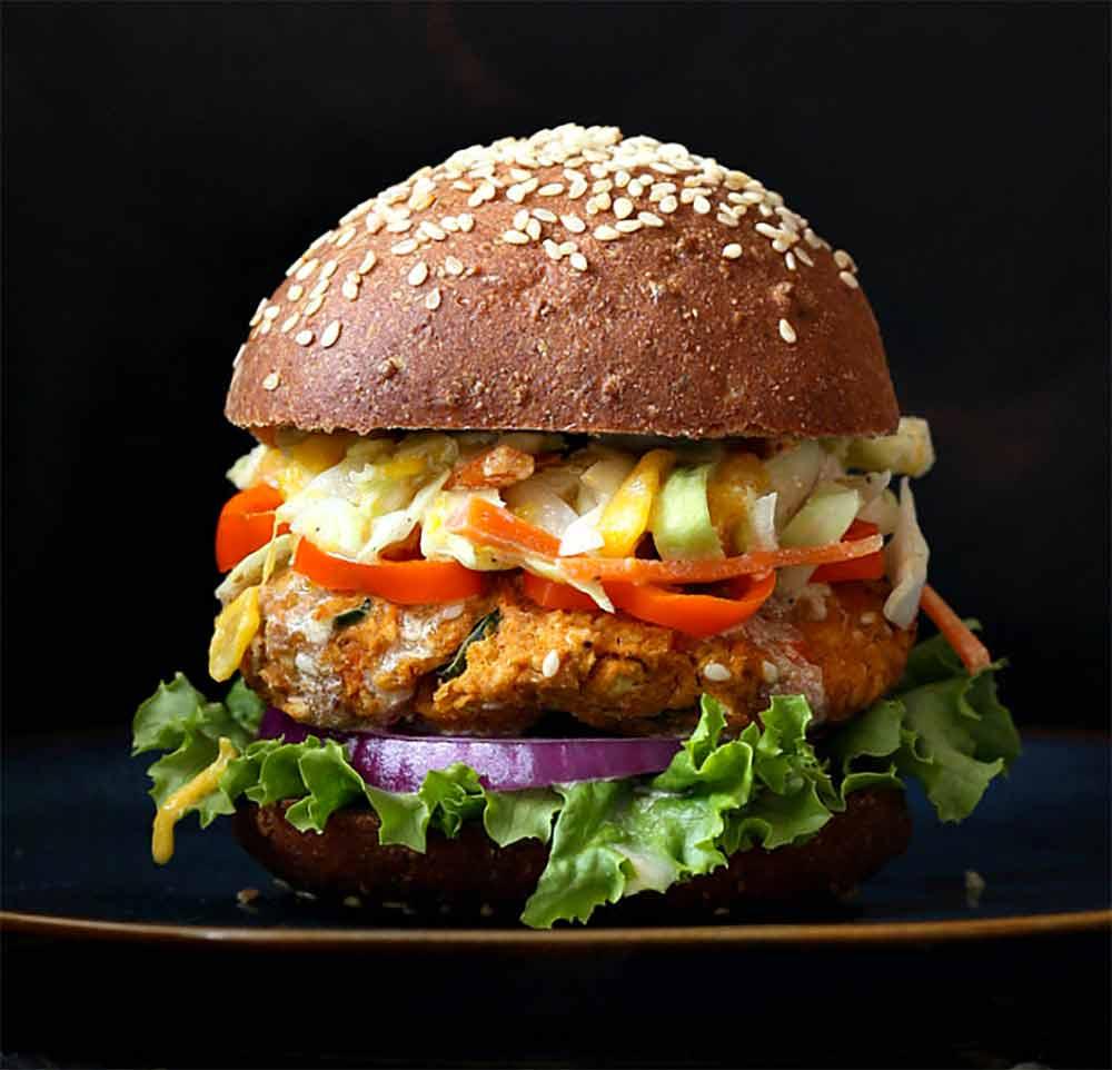 19 Recipes that Swap Lentils for Meat: BBQ Lentil Veggie Burger