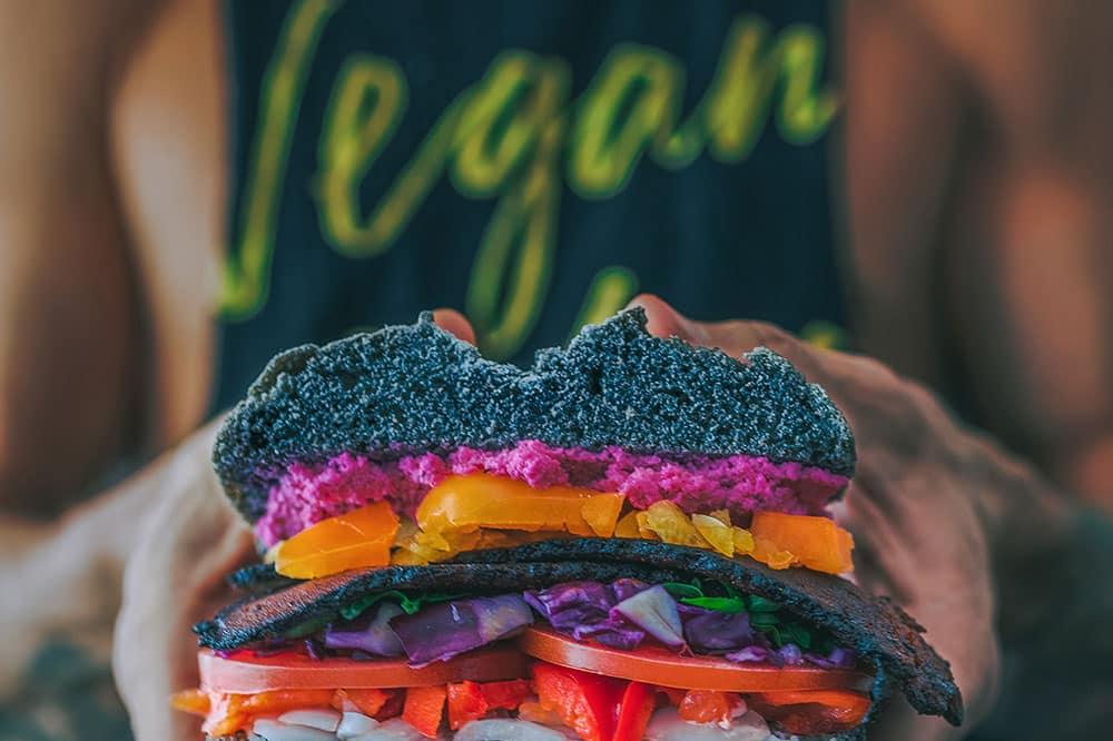 best vegetarian junk food