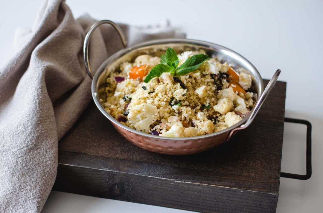 Savory Moroccan Couscous