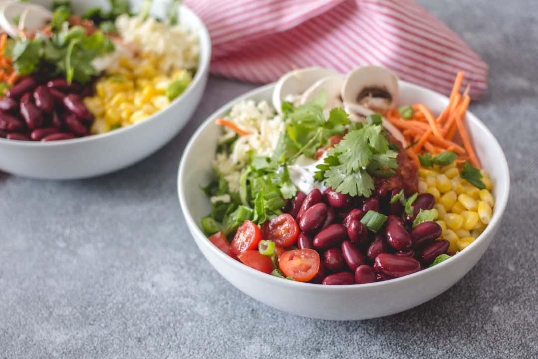 Vegetarian Summer Taco Salad