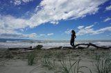 Am Tahunanui Beach in Nelson: wilde Naturgewalten