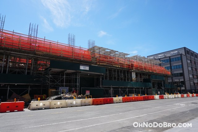 Even more construction pictures at 61 Bond