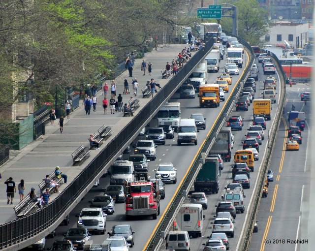 Brooklyn Queens Expressway Traffic