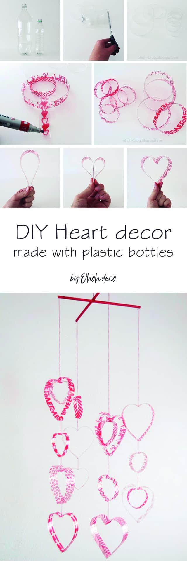 Easy DIY Valentine's day decor