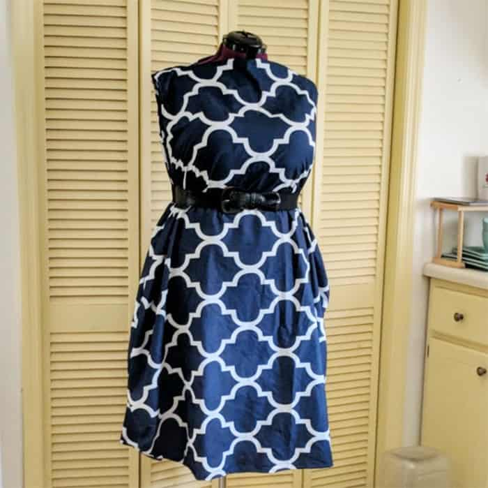 easy dress sewing tutorial