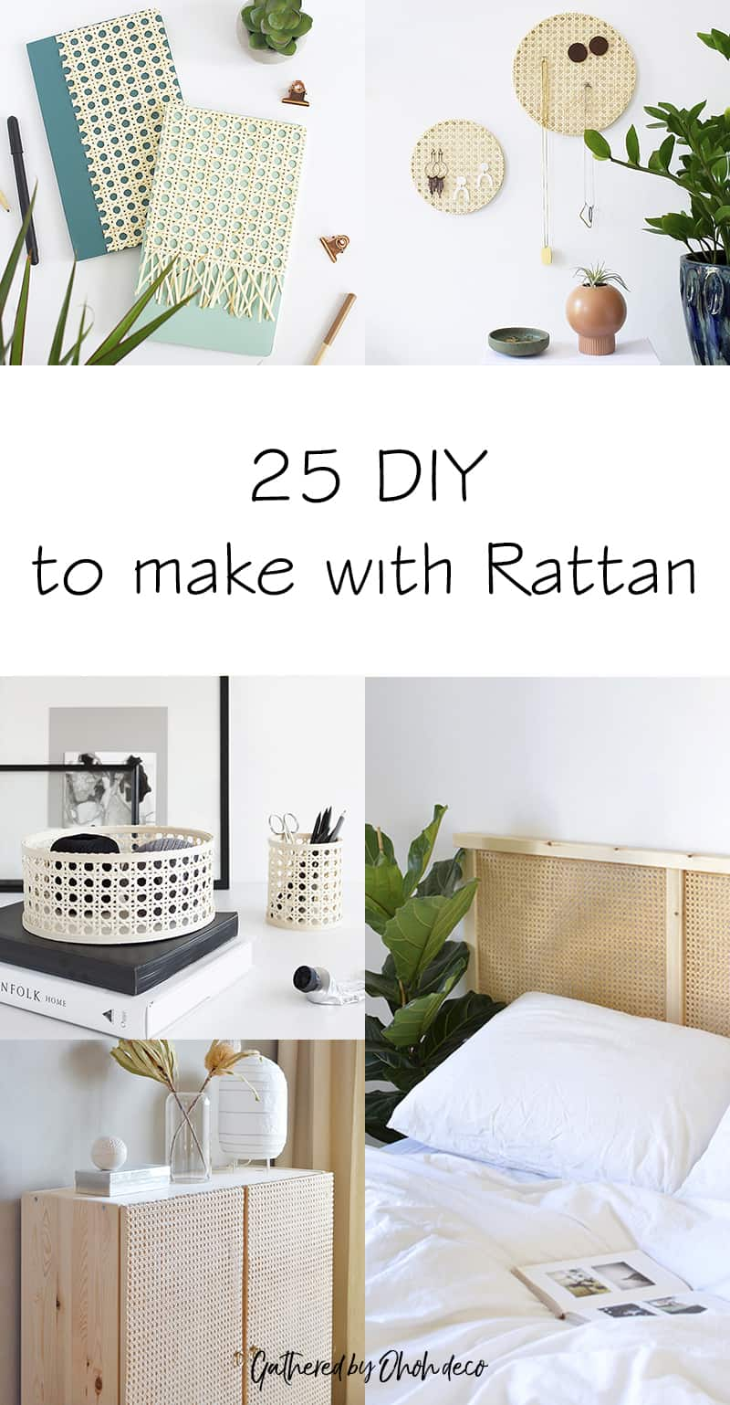 Rattan DIY ideas
