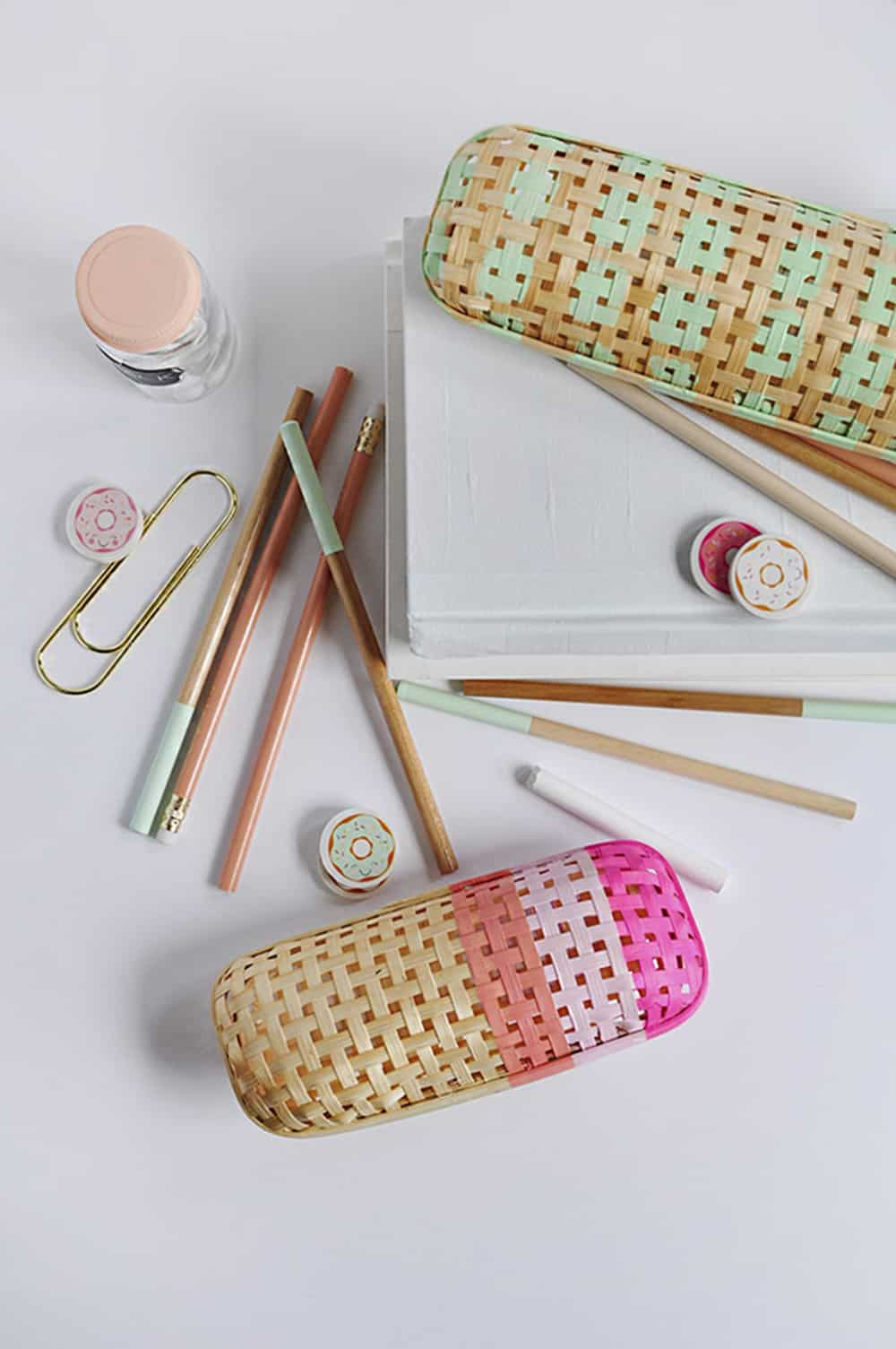 rattan pencil case hack