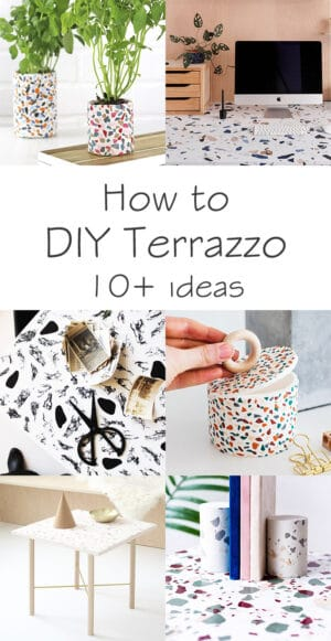 10 terrazzo tutorials