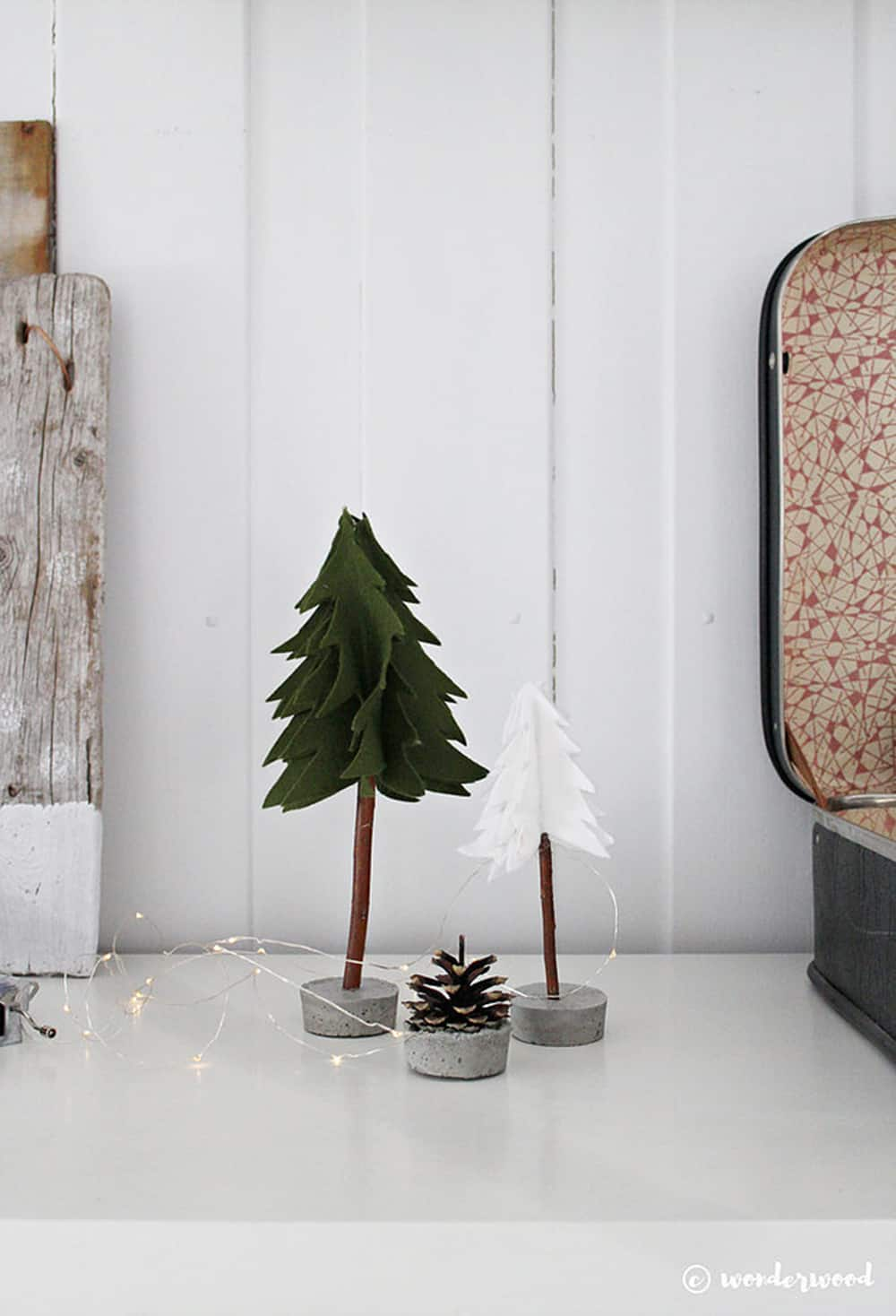 DIY Natural hygge Christmas decor