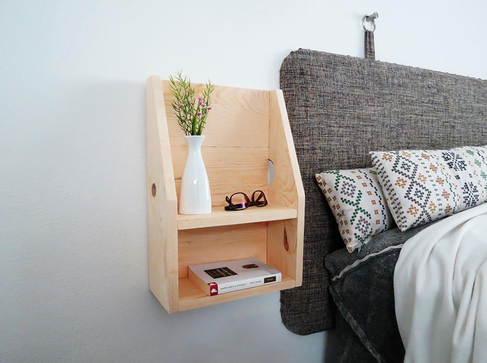 diy floating nightstand main 2
