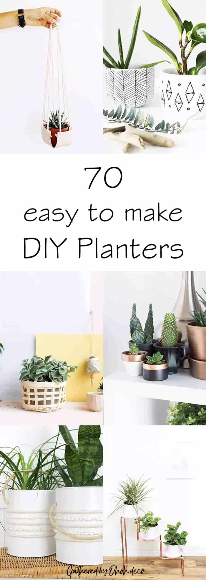 70 DIY planters easy to make