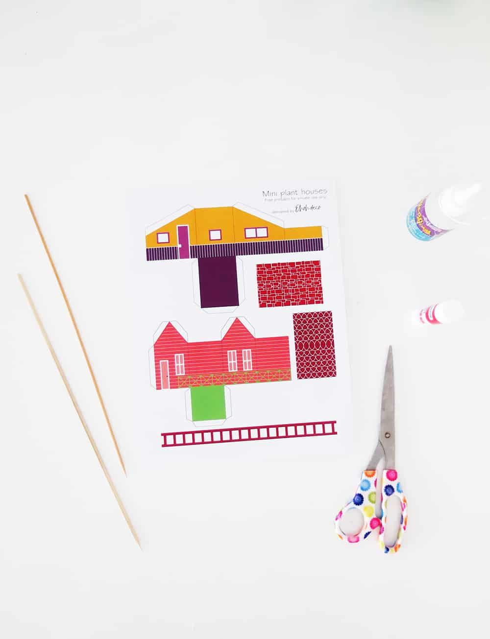 free printable house