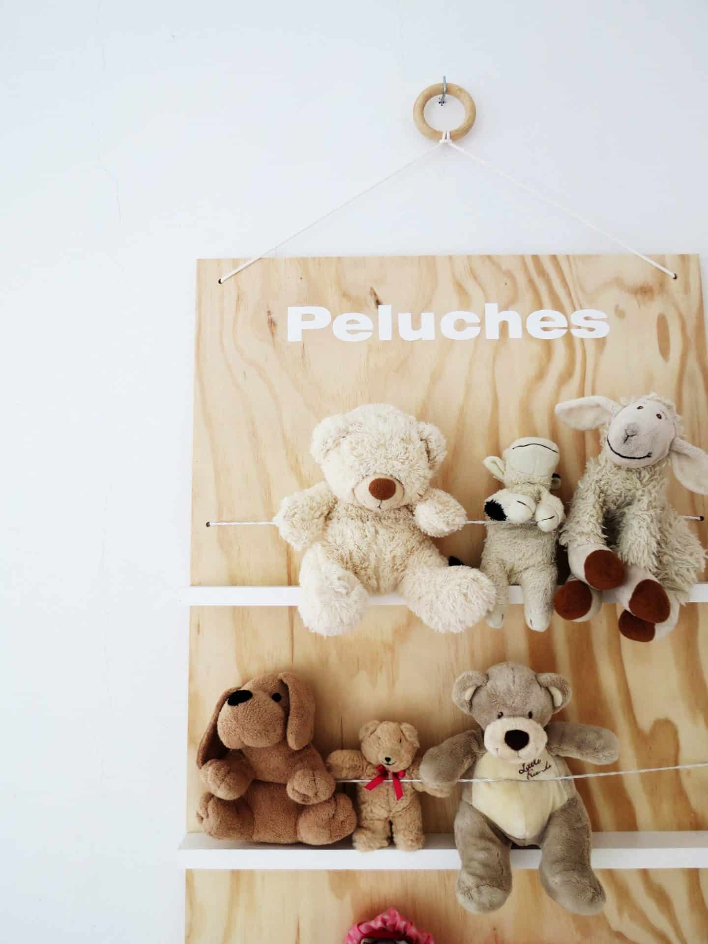 Build a soft toys storage