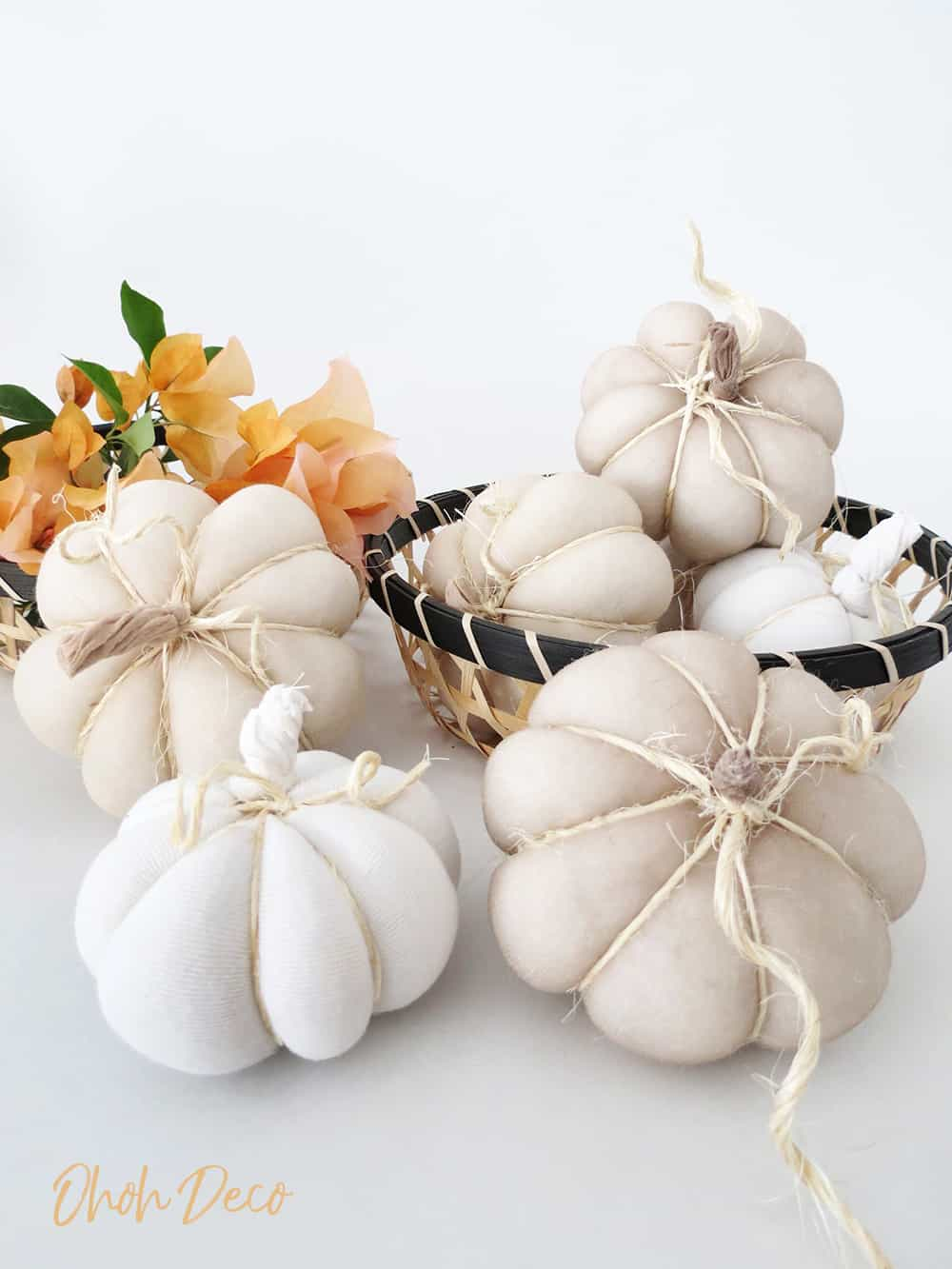 How to make Recycled Halloween Pumpkins with tights
