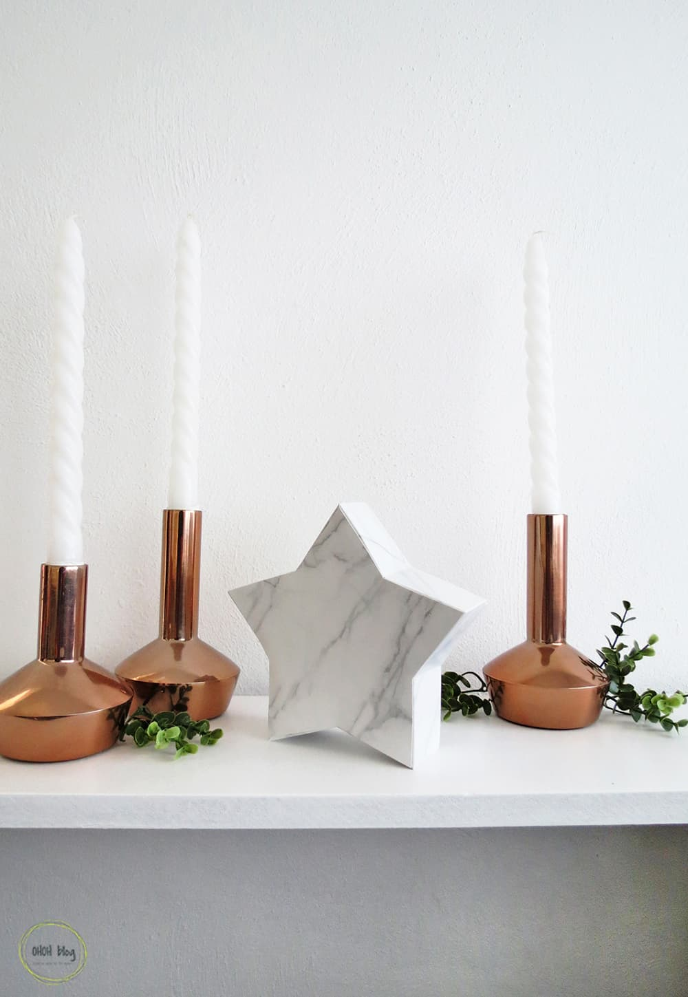 How to create a DIY scandinavian Christmas decor