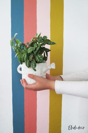 air clay planter