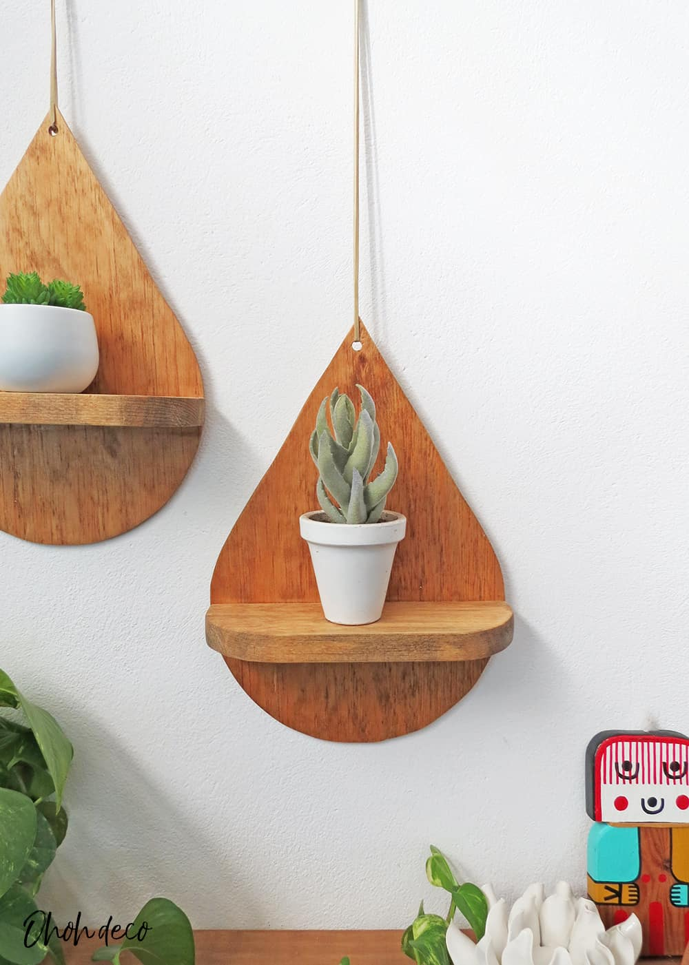 make decorative shelf