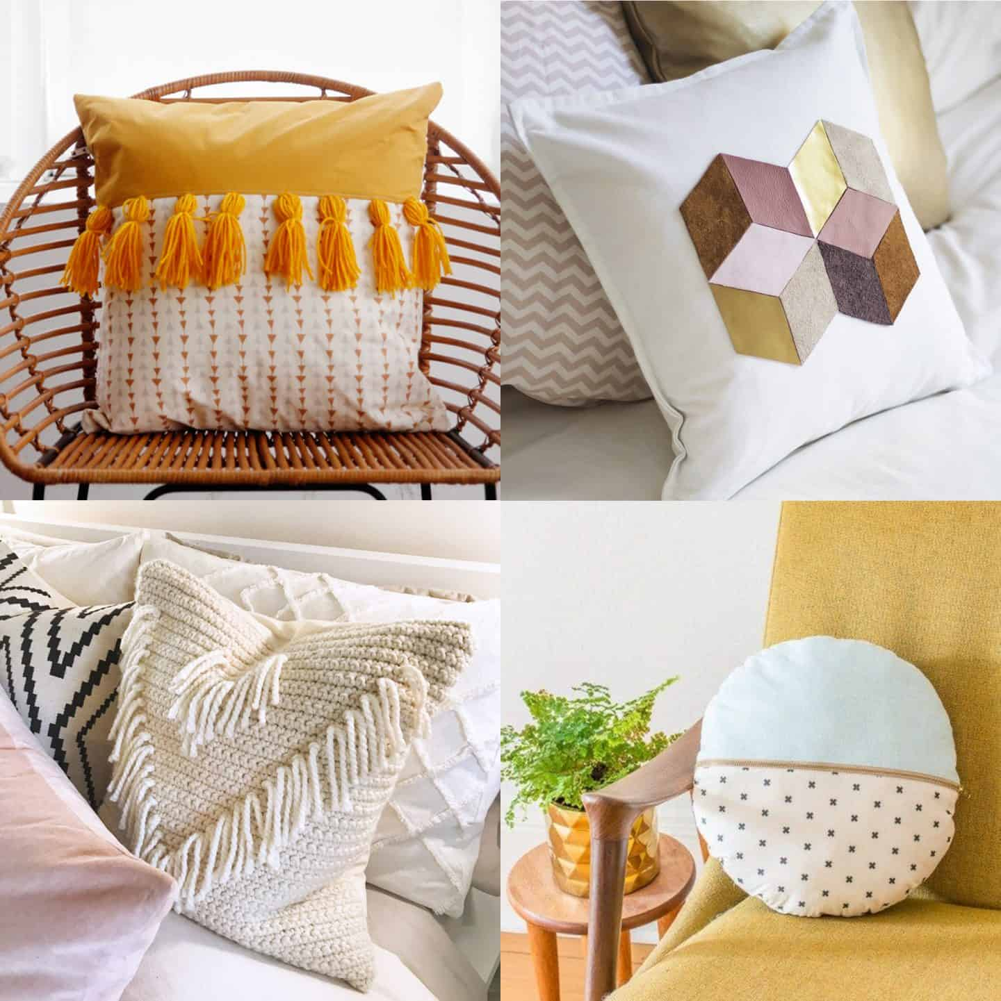 50 DIY pillows to jazz up your decor