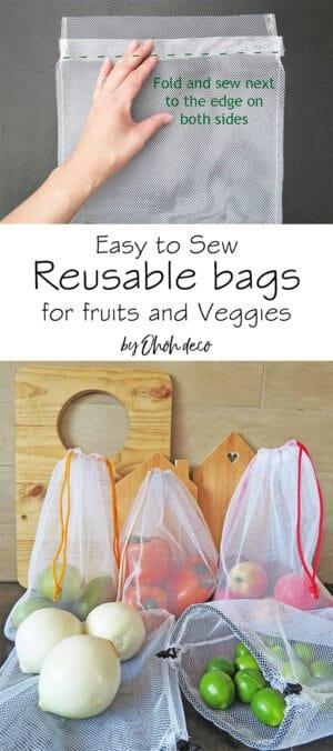 easy to sew reusable bag