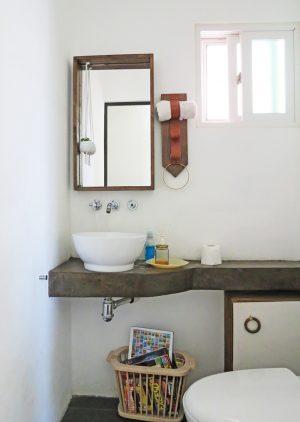 how to make a backsplash using penny tiles using