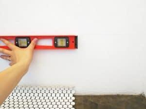 how to make a backsplash using penny tiles