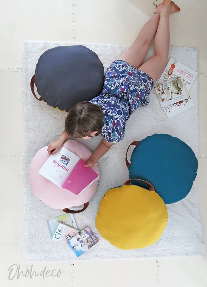 sew floor cushion