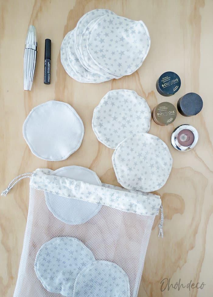 How to make reusable makeup remover pads