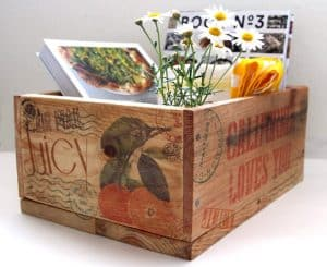 DIY storage boxes and baskets