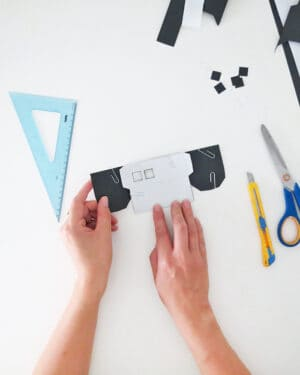diy paper house craft