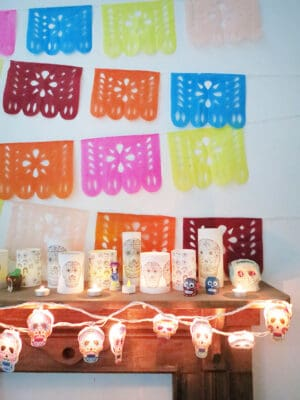 how to make diy papel picado