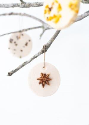 diy scandinavian christmas ornaments