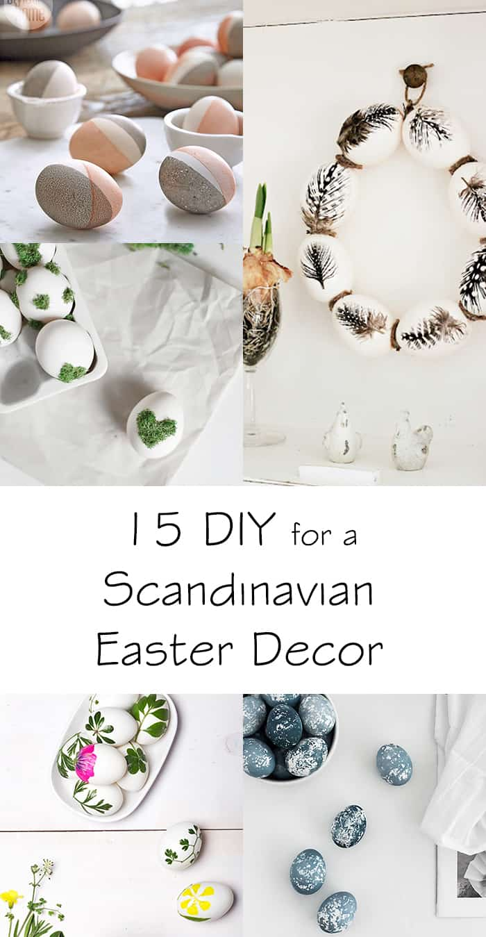 diy ideas scandinavian easter