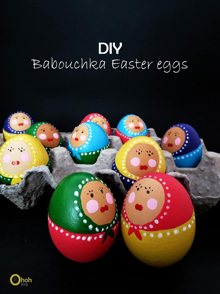 diy babushka eggs