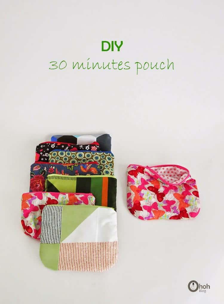 easy to sew pouch tutorial