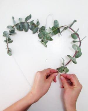 eucaliptus wreath